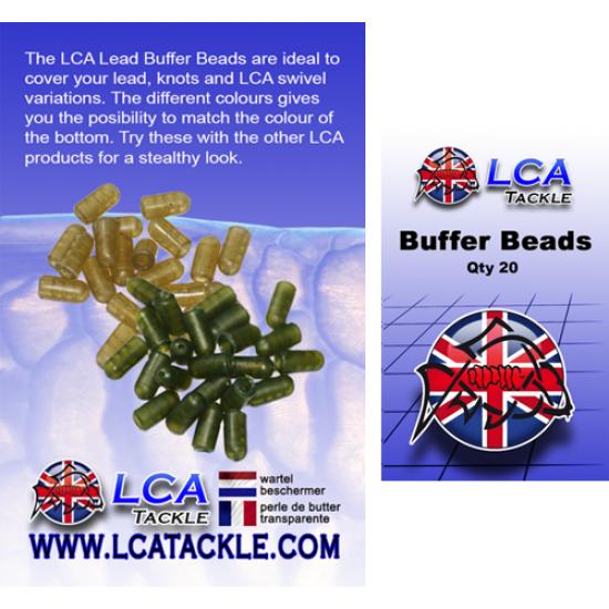 Буфери LCA, 20 броя, зелени