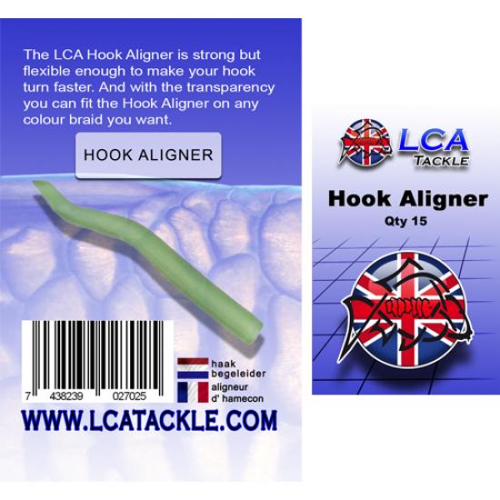 Алайнери LCA, 15 броя, прозрачно зелени