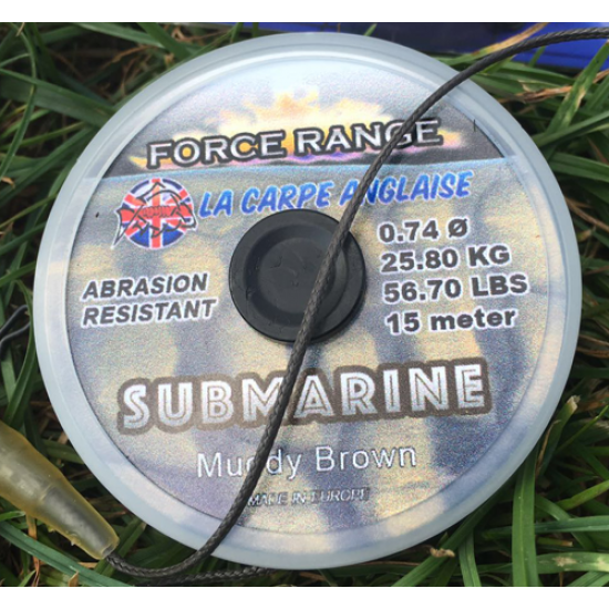 Тежък потъващ лидер LCA Submarine, 56 либри, 15 метра