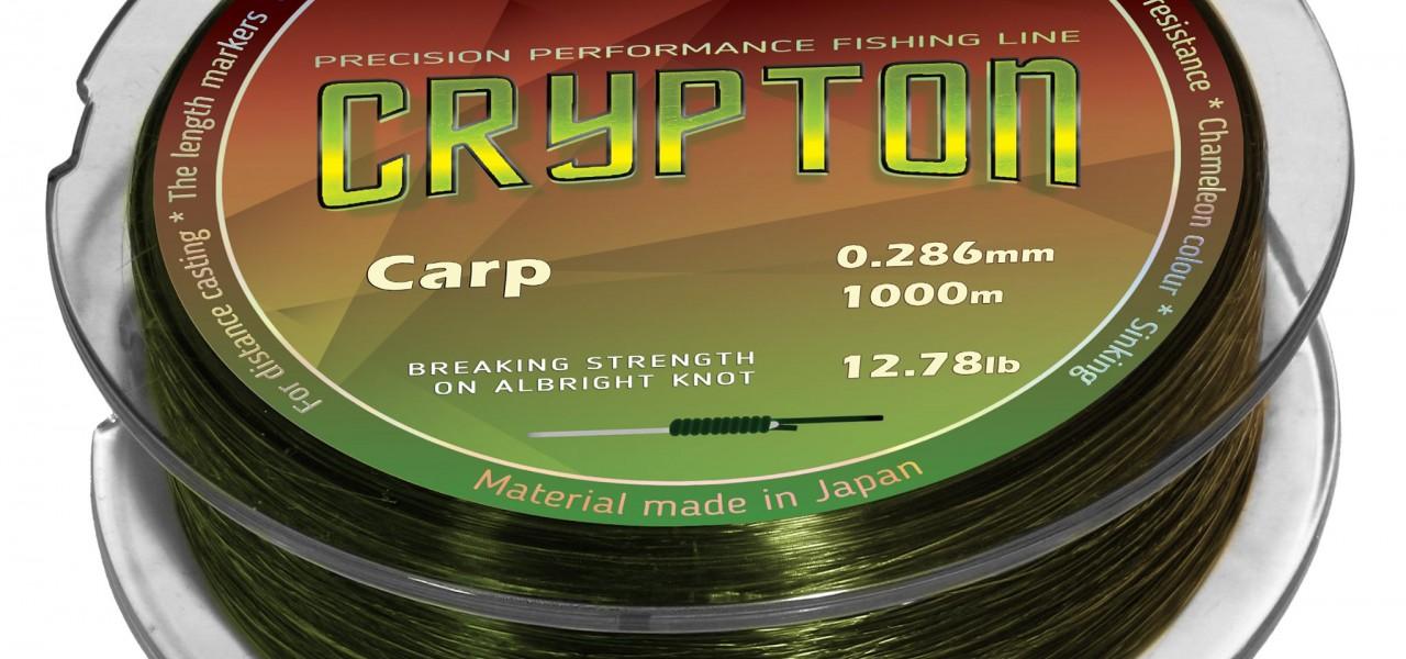 НОВО - Популярното фидер влакно Katran Crypton Carp вече и в шаранджийски диаметър на шпули по 1000 m