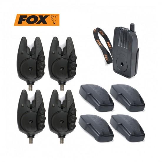 Сигнализатори  4+1 FOX RX+ 4 ROD