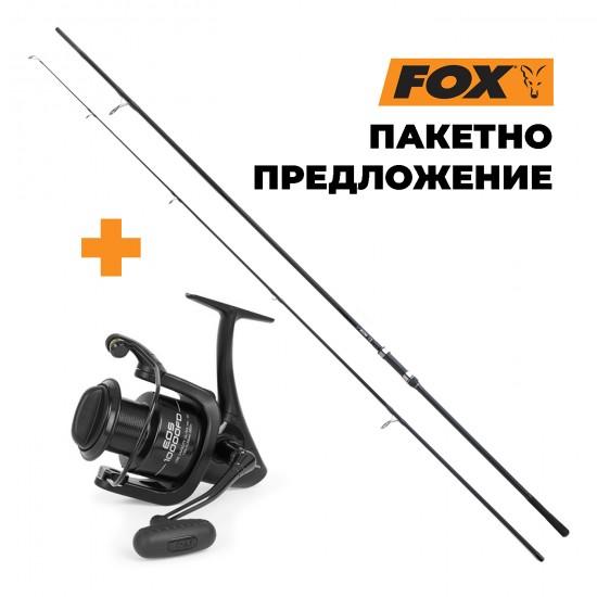 Въдица + Макара FOX EOS, различни варианти