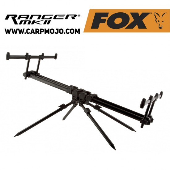 Шаранджийска стойка FOX RANGER MK2 за 3 въдици